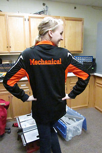 The back of the new jackets for mechanical members
