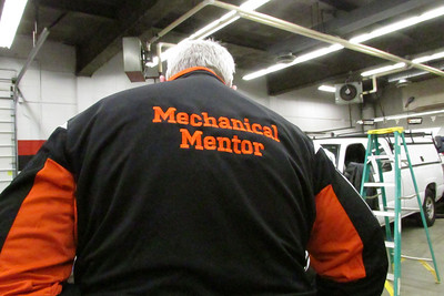 The back of the new jackets for mechanical mentors