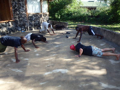 2014 ol Donyo Weight OFF Weight ON Challenge!  ....we workout!