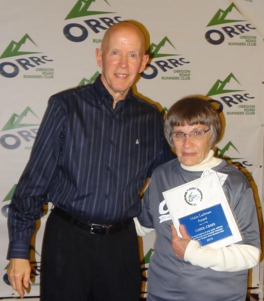 Carol Craig - Helen Lockman Award Recipient