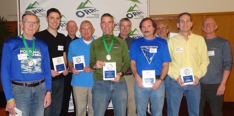 Male Age Group Winners