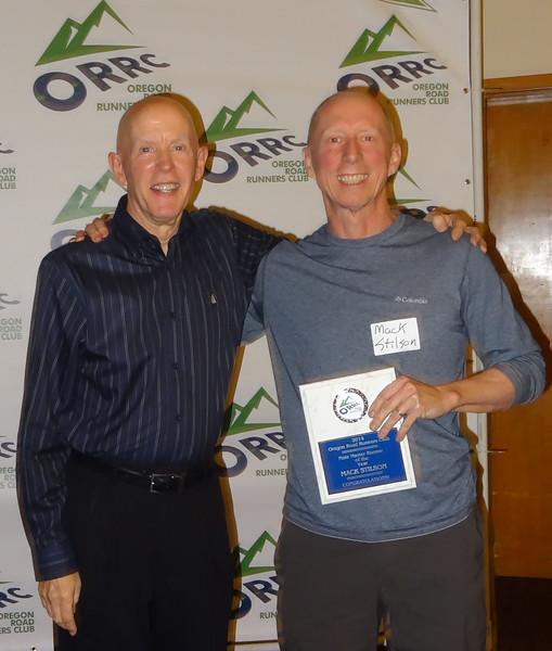 Mack Stilson Male Master Runner of the Year