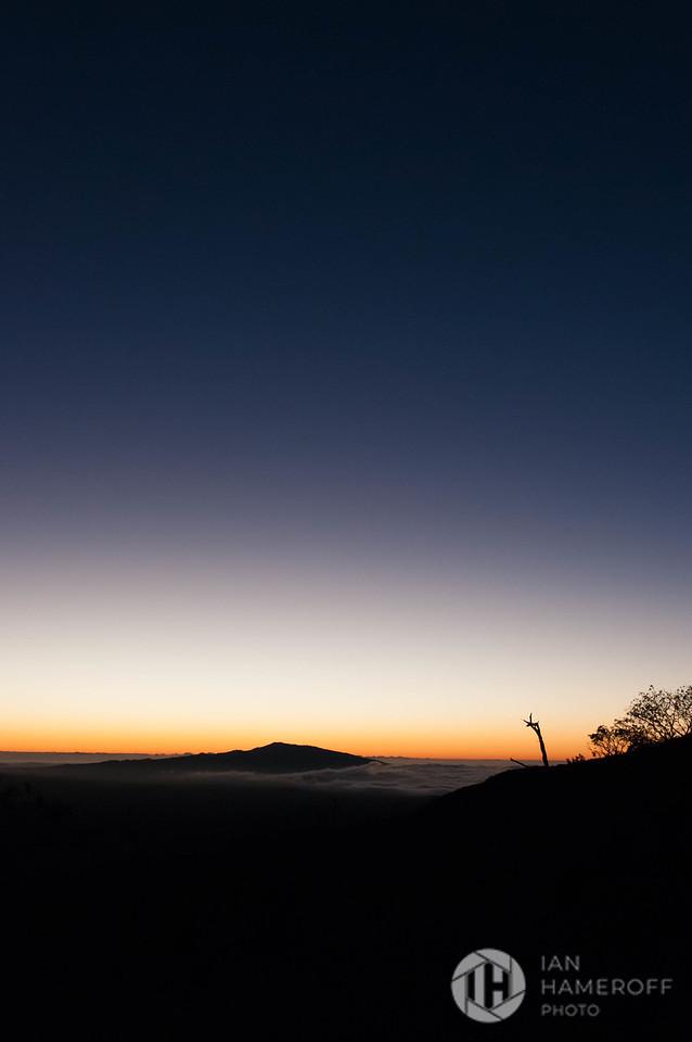 Sunset from Mauna Kea