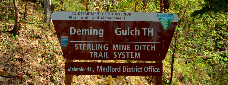 Sterling Mine Ditch Trail Southern Oregon
