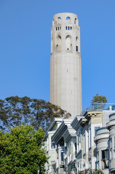Coit Tower and Telegraph Hill