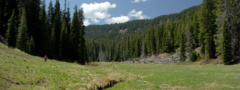 Muir Creek Rogue-Umpqua Wilderness Oregon