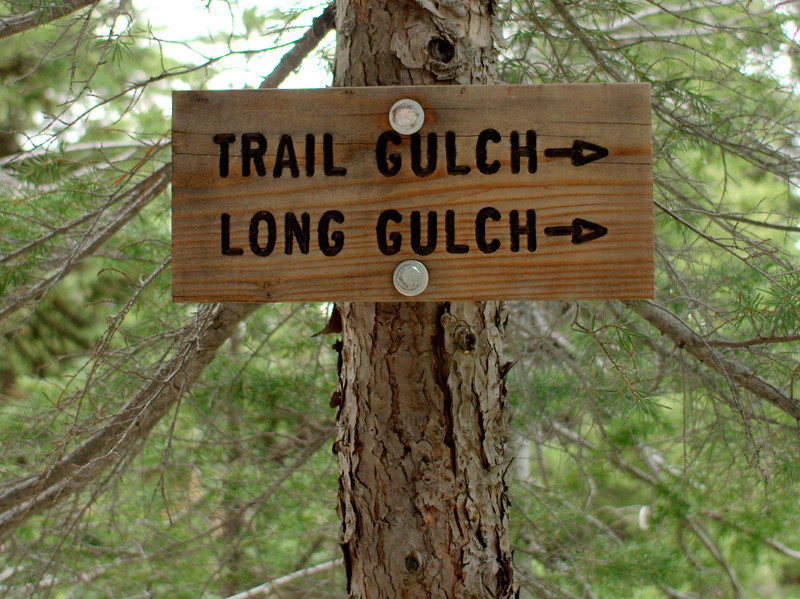 Trail Gulch Long Gulch Loop Trinity Alps Wilderness California
