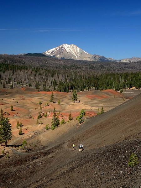 Cinder Cone Lassen Volcanic National Park California