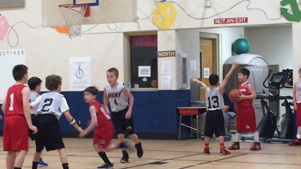 Jan. 31 - Quinn Scores In Basketball
