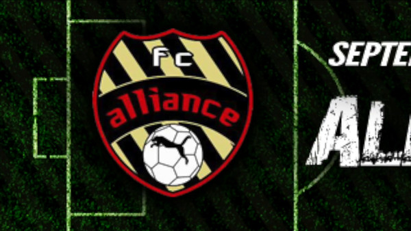 Sept. 13: FC Alliance Fall Tournament