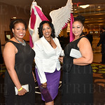Yvonne Austin, Regina Willams and Melissa Jackson.