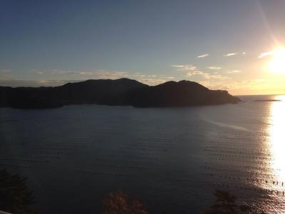 Oofunato onsen room view