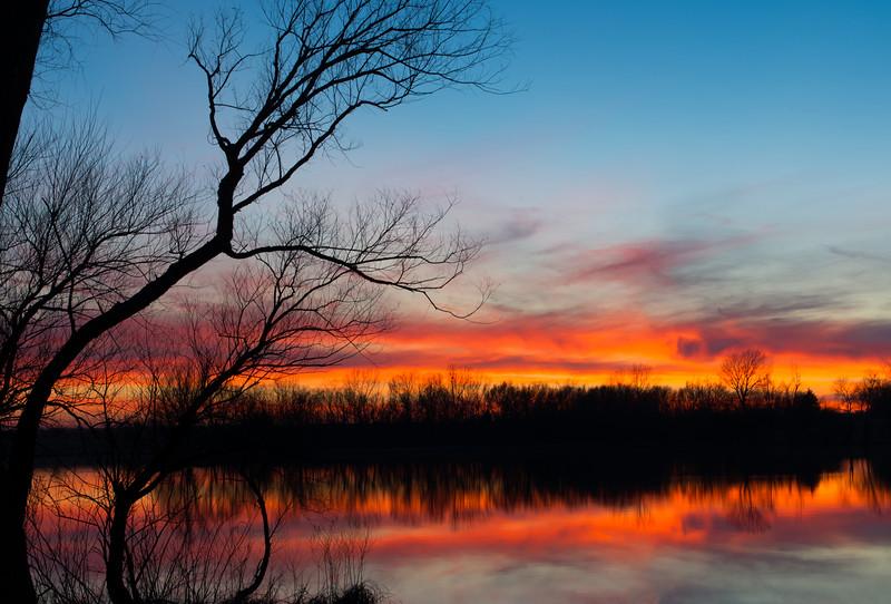 A Harvey County Sunset