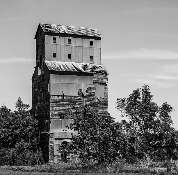 Abandoned in Cherokee, Oklahoma