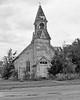 Old Church in Lost Springs Ks