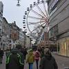 The RiesenRad (big wheel) in downtown Wiesbaden - Christmas Market
