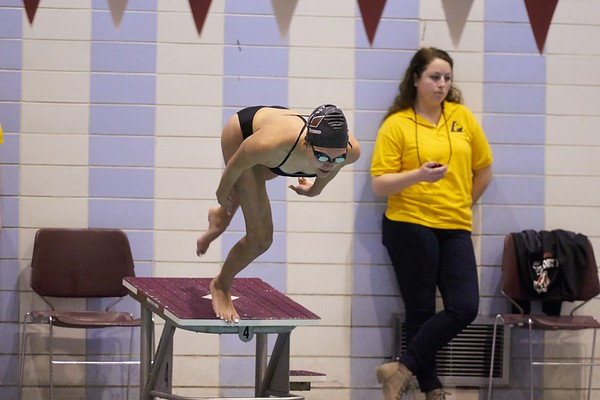 Swimming Diving; Buildings; Mitchell Hall Fieldhouse; Location; Inside; Pool; Time/Weather; day; Type of Photography; Candid; UWL UW-L UW-La Crosse University of Wisconsin-La Crosse; Sport; Winter; January; People; Student Students; Athlete Athletics