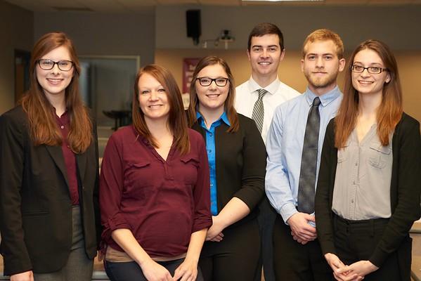 -UWL UW-L UW-La Crosse University of Wisconsin-La Crosse; Candid; Classroom; Collaborating; day; December; Group; Inside; Posed; Student students; Wing