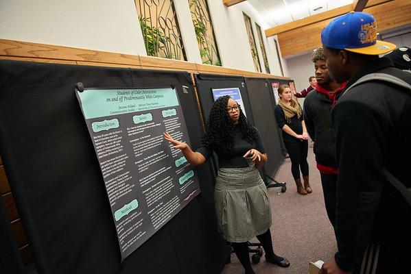 Activity; Speaking; Buildings; Cartwright; Location; Inside; People; Student Students; Time/Weather; day; Diversity; Woman Women; UWL UW-L UW-La Crosse University of Wisconsin-La Crosse