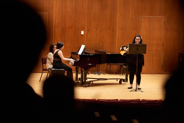 Activity; Music; Buildings; Center for the Arts CFA; Location; Inside; Objects; Band; People; Student Students; Winter; December; UWL UW-L UW-La Crosse University of Wisconsin-La Crosse; Type of Photography; Candid; Time/Weather; day; Woman Women