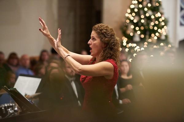 -UWL UW-L UW-La Crosse University of Wisconsin-La Crosse; Band; December; evening; Group; Inside; Music; Professor; Singing