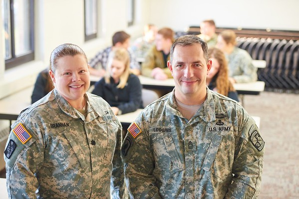 ROTC; Military; Students; Professor; Instructor