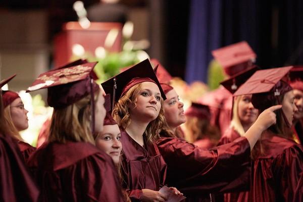 Activity; Graduation; Buildings; La Crosse Center; Location; Inside; People; Student Students; Spring; May; Time/Weather; day; Type of Photography; Candid; UWL UW-L UW-La Crosse University of Wisconsin-La Crosse