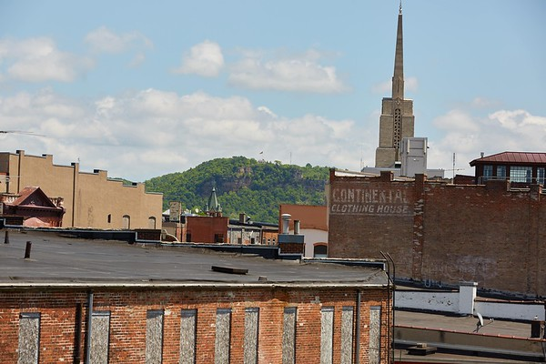 Buildings; Downtown; Location; Outside; Time/Weather; day; Downtown La Crosse views; Church Graddad Bluff
