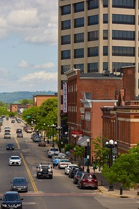 Buildings; Downtown; Location; Outside; Time/Weather; day; Downtown La Crosse views; second Street us bank