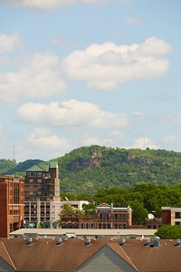 Buildings; Downtown; Location; Outside; Time/Weather; day; Downtown La Crosse views; Graddad bluff