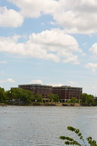 Buildings; Downtown; Location; Outside; Time/Weather; day; Downtown La Crosse views; Mississippi River Weber Riverside