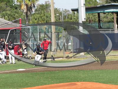 Baseball vs. Bentley (2/27/16)