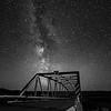 1st - Jacky Dormaar - FCC - Milky Way over the Tressel Bridge