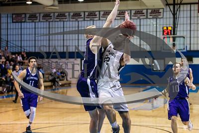 Men's Basketball vs. Stonehill (3/15/16)