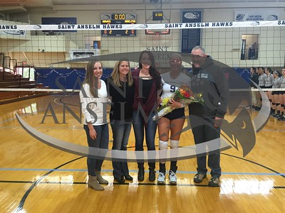 Volleyball Senior Day (11/11/15)