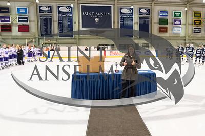 Women's Ice Hockey vs. Holy Cross NEHC Open Championship (2/28/16) Courtesy Jim Stankiewicz