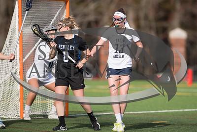 Women's Lacrosse vs. Bentley (03/30/16) Courtesy Jim Stankiewicz