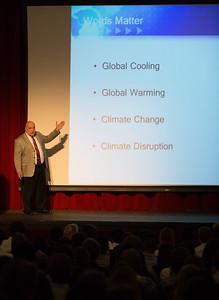 Attorney Joseph Turzi speaks at Morning Meeting on April 21, 2016.