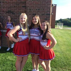 2015 - 2016 Cheer Season