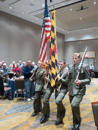 Navy and  FDR Memorials,  Hero's Banquet October 2016