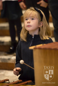 ES at the Christmas Service