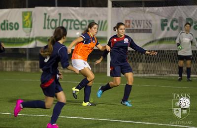 Girls Varsity Soccer vs  British School of Milan (BSM)