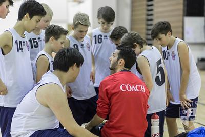 Middle School Basketball teams take on ASM