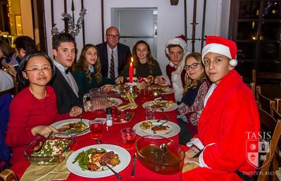 High School Christmas Family Dinner