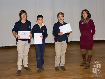 Middle School Magnificent 7 Awards Assembly