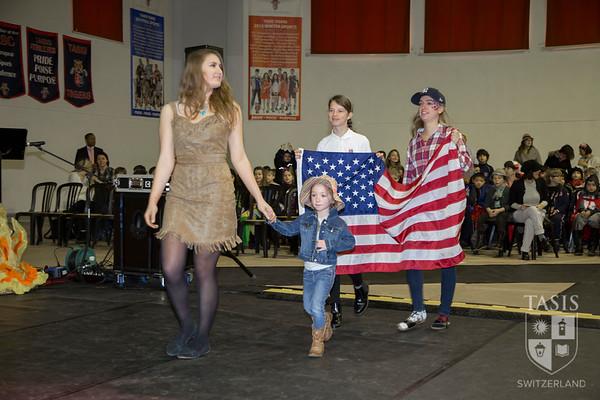 TASIS International Week - Parade of Flags