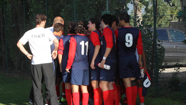 Varsity Soccer takes on ASM