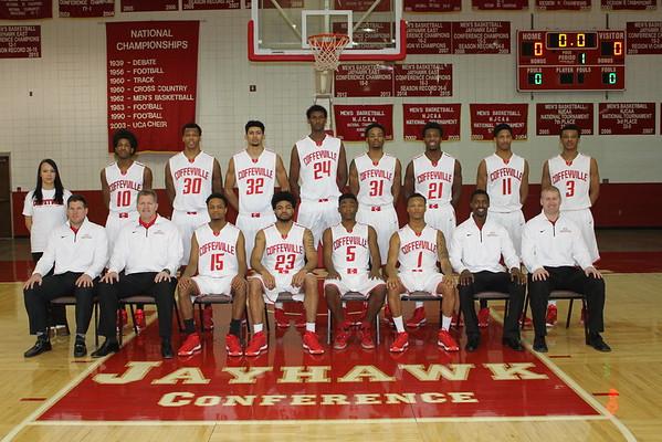 2015-2016 Men's Basketball Team Photo