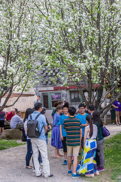 Graduation weekend activity or scene, Friday, at North Country School, 2016. photo by Nancie Battaglia