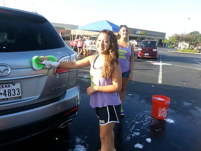 Team Car Wash at McDonald's - July